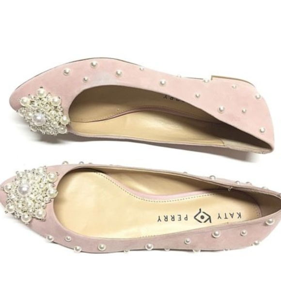 858332b02dac Katy Perry Shoes - Katy Perry the Lady Blush Nude Suede Shoe Size 9
